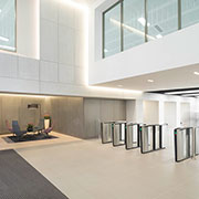 Renovated Office Building in Glasgow Tightens Security with Boon Edam Optical Turnstiles