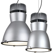 Rocket I LED Frosted Lens Lowbay Industrial Pendants