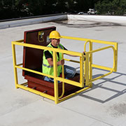 Roof HatchGuard from Safety Rail Company