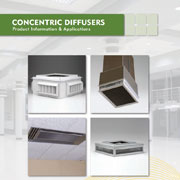 Ruskin Concentric Diffusers Save Time and Money
