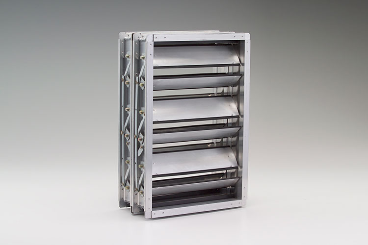 Ruskin introduces TED40x2 low-leakage insulated control damper