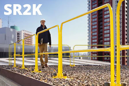 SafetyRail 2000 Rooftop Guardrail System