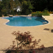 Sealers For Stamped Concrete Pool Decks And Patios From Duraamen