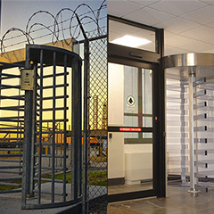 Security Entrances for Indoors or Outdoors – or Both