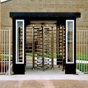 Security Turnstile Canopy from Par-Kut International