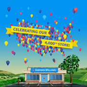 Sherwin-Williams Opens 4,000th Retail Store