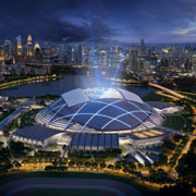 Singapore is now home to the world's largest dome structure
