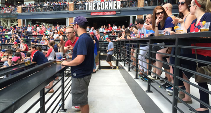 SlipNOT is keeping the Indians fans at Progressive Field on their feet