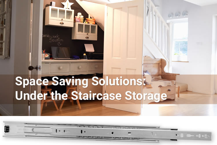 Space Saving Solutions: Under the Staircase Storage