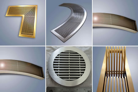 Specialty Linear Bar Grilles from Advanced Architectural Grilleworks