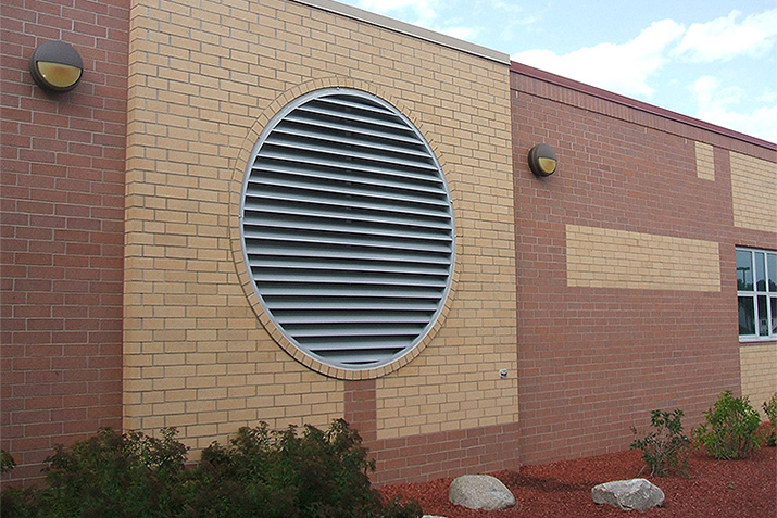 Specialty Shape Louvers