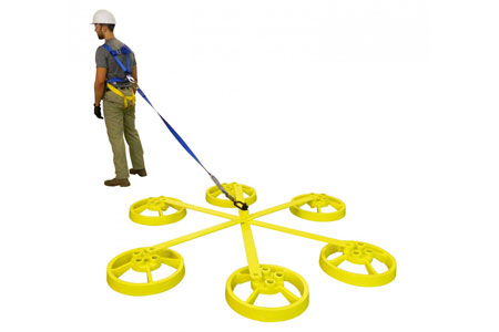SRC Mobile Fall Restraint System