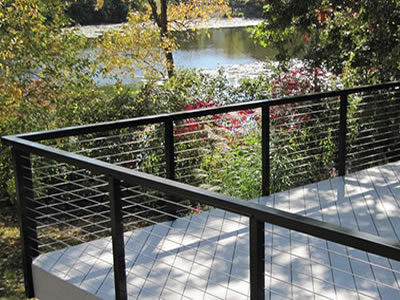 CableView® Aluminum Cable Railing System from Stainless Cable