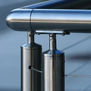 CableView® Stainless Steel Round Cable Railing System