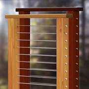 CableView® Wood Cable Railing System