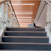 Stainless Steel Nosings on Lobby Stair Cases at University of North Carolina