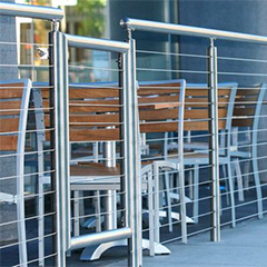 Stainless Steel Round Cable Railing