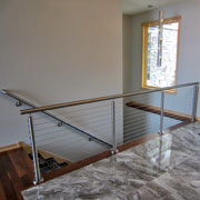 Stainless Steel Round Railing System