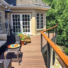 Start your summer renovation plans and customize the railing system of your dreams