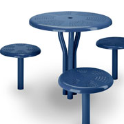 SteelsitesTM Collection: Bistro Tables and Seats from Victor Stanley