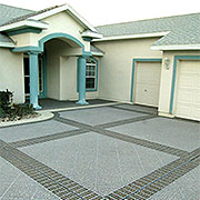Stenciled Concrete for your Pool decks, patios and driveways
