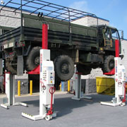 Stertil-Koni Lifts Ideal For Military Applications