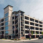 Stromberg Architectural Products at Bremerton Naval Parking Garage