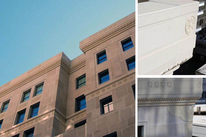 Stromberg Architectural Products at Federal Reserve Bank, St. Louis, MO