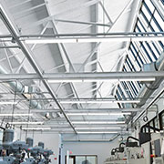 TECTUM E-N Roof Deck Panels at Northland Workforce Training Center