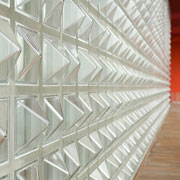 Textured Architectural Pattern Glass Block & Glass Bricks