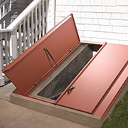 The Bilco Company Introduces New Basement Door for Homes with Sloped Sidewalls