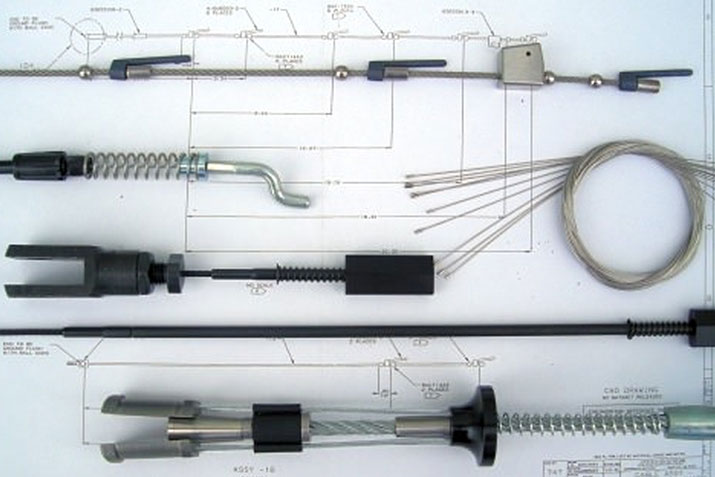 Custom wire rope assemblies from The Cable Connection on AECinfo.com