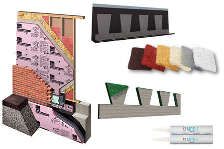 The CavityComplete Wall System for Wood Stud with Masonry Veneer