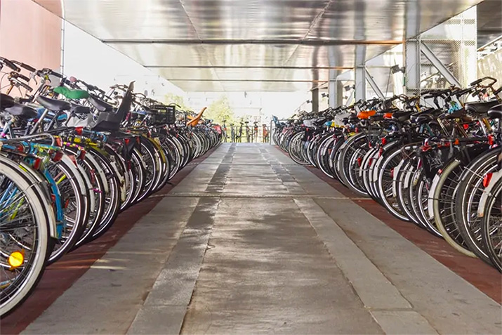 The Essential Guide to Bike Parking - Site planning and installation for bike racks, lockups, and lockers