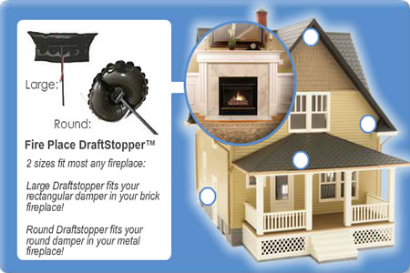 Aecinfo Com News The Fireplace Draftstopper Fireplace Plug