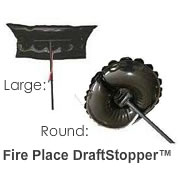 The Fireplace Draftstopper™ Fireplace Plug