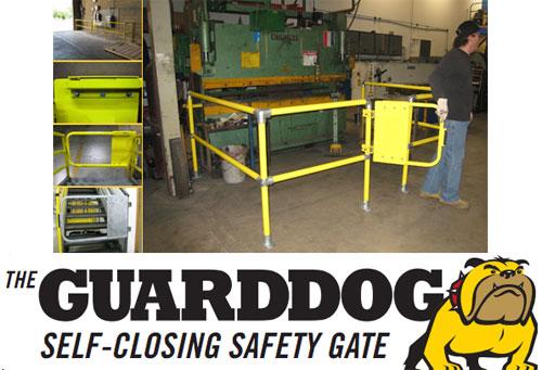 aecinfo com news  the guard dog self closing gate from