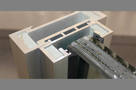 Thermally enhanced high-security ballistic door and window frame systems