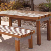 Thomas Steele Nakoma™ Table Set: A Modern touch to your outdoor dining area