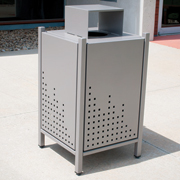Thomas Steeles Albany Litter Receptacles