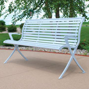 Thomas Steeles Aurora™ Backed & Flat Benches