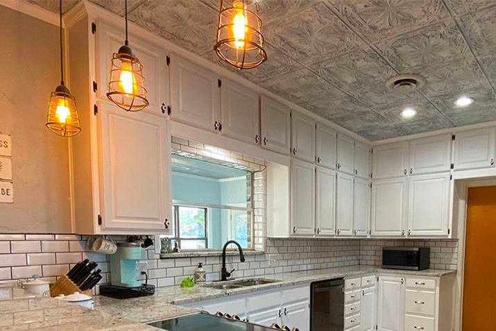 Tin Ceiling Tiles: Pros and Cons
