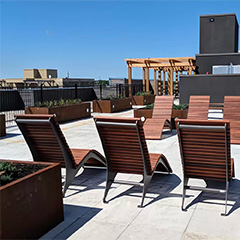 Top five tips for creating a rooftop deck