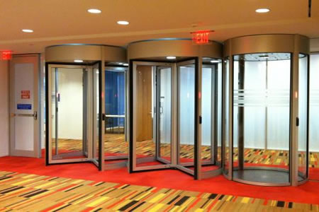 Aecinfo Com News Top Selling High Security Revolving Door