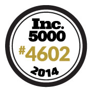 Total Security Solutions Ranks No. 4602 on the 2014 Inc. 5000