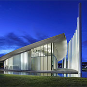 Translucent Panels | Chesapeake Boathouse, Oklahoma City