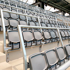 Trex Commercial Products Brings Fans to Their Feet With Safe Standing Solutions