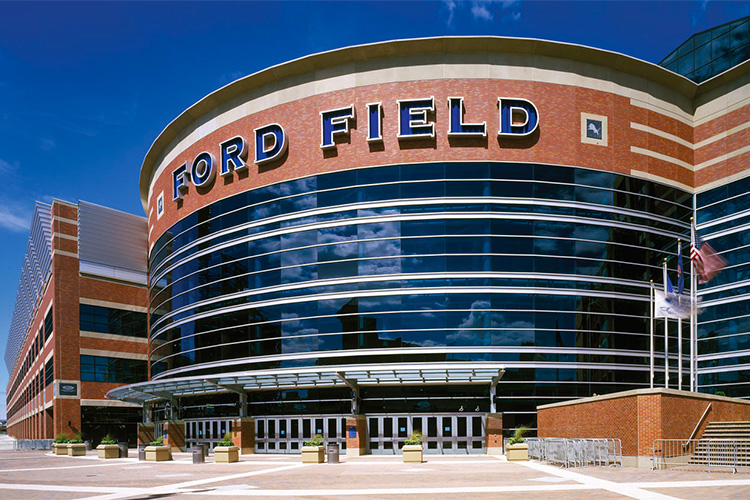 Kawneer Project: Ford Field, Detroit, Michigan, USA
