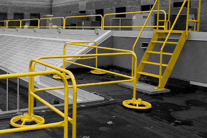 Turn-Key Passive Fall Protection from Safety Rail Company