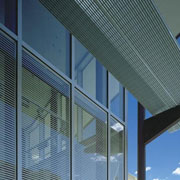 Unicel Architectural's Vision Control Integrated Louvers Contribute to LEED Green Building Certication
